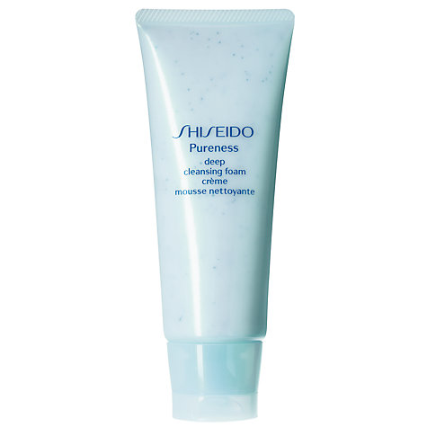 Buy Shiseido Pureness Deep Cleansing Foam, 100ml Online at johnlewis.com