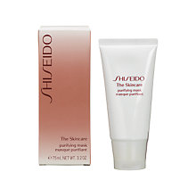 Buy Shiseido The Skincare Purifying Mask, 75ml Online at johnlewis.com