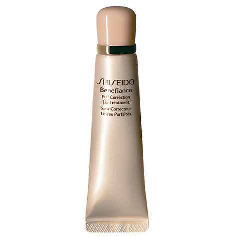 Buy Shiseido Benefiance Full Correction Lip Treament, 15ml Online at johnlewis.com