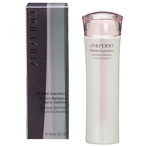 Buy Shiseido White Lucency Refining Softener, 150ml Online at johnlewis.com