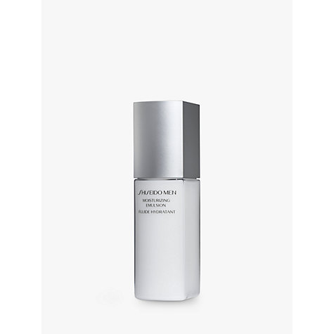 Buy Shiseido Men Moisturising Emulsion, 100ml Online at johnlewis.com