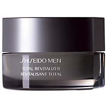 Buy Shiseido Men Total Revitalizer, 50ml Online at johnlewis.com