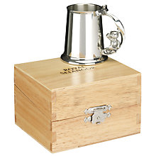Buy Royal Selangor Pewter Teddy Christening Mug Online at johnlewis.com