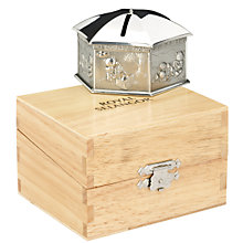 Buy Royal Selangor Pewter Teddy Money Box Online at johnlewis.com