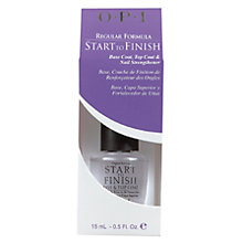 Buy OPI Start-To-Finish Nail Strengthener, 15ml Online at johnlewis.com