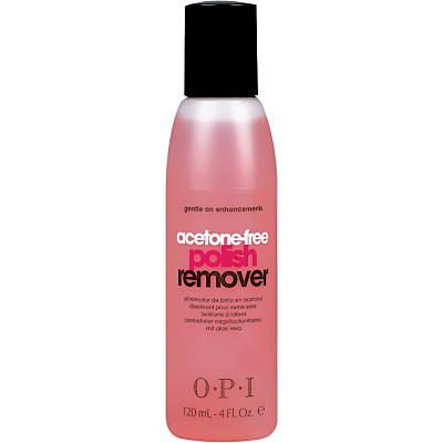 shop for OPI Acetone Free Nail Polish Remover, 120ml at Shopo