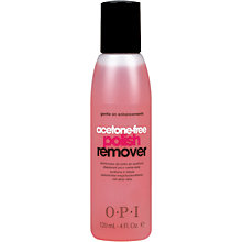 Buy OPI Acetone Free Nail Polish Remover, 120ml Online at johnlewis.com