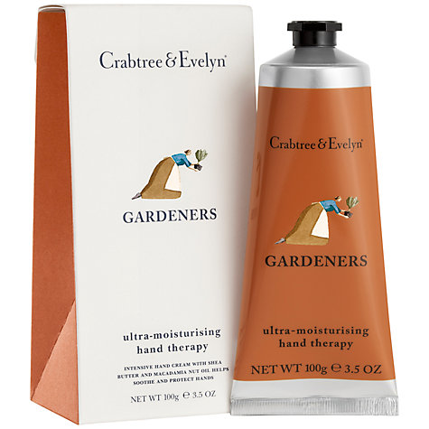 Buy Crabtree & Evelyn Gardeners Hand Therapy Cream, 100ml Online at johnlewis.com