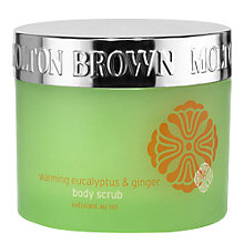 Buy Molton Brown Warming Eucalyptus & Ginger Body Scrub, 300g Online at johnlewis.com