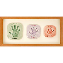 Buy Imprints Gift Certificate, 3 Single Family Prints, Natural Pine or Whitewash Frame Online at johnlewis.com