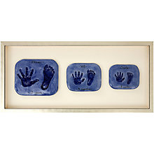 Buy Imprints Gift Certificate, 3 Double Family Prints, Silver Effect Frame Online at johnlewis.com