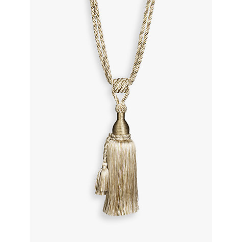 Buy John Lewis Double Tassel Tie Back Online at johnlewis.com