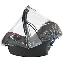 Buy Maxi-Cosi Pebble and Cabriofix Raincover Online at johnlewis.com
