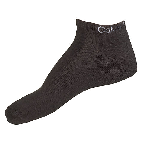 Buy Calvin Klein Coolmax Sports Socks, Pack of 3, One Size Online at johnlewis.com