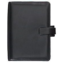 Buy Filofax Metropol Personal Organiser, Black Online at johnlewis.com