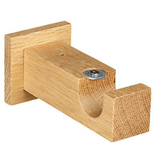 Buy John Lewis Solid Oak Side Bracket, 30mm Online at johnlewis.com
