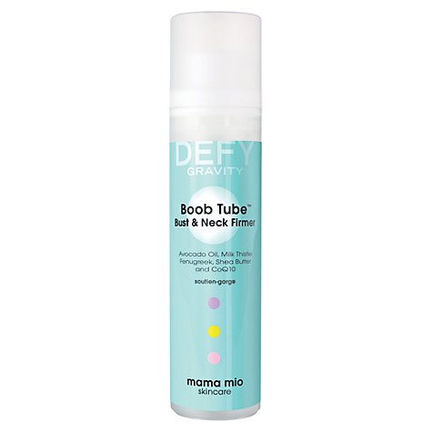 Buy Mama Mio Boob Tube Bust and Neck Firmer, 100ml Online at johnlewis.com