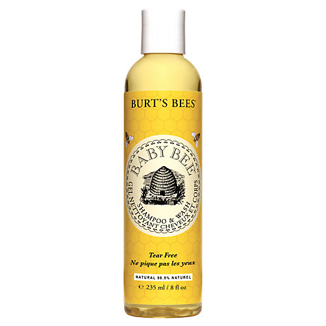 Buy Burt's Bees Baby Bee No Tears Shampoo and Wash, 236ml Online at johnlewis.com
