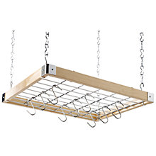 Buy Hahn Square Wooden Ceiling Pan Rack, 40293 Online at johnlewis.com