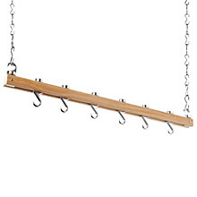 Buy Hahn Single Bar Wooden Ceiling Pan Rack, 40200 Online at johnlewis.com