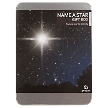 Buy Name a Star Gift Online at johnlewis.com