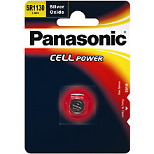 Buy Panasonic Alkaline LR1130 Battery Online at johnlewis.com