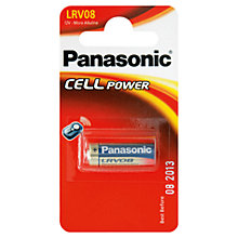 Buy Panasonic Car Alarm Battery, LRV08 Online at johnlewis.com