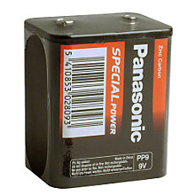 Buy Panasonic Radio Battery, PP9 Online at johnlewis.com