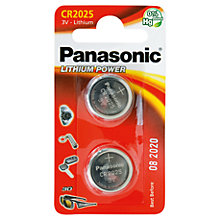 Buy Panasonic Battery, CR2025 Online at johnlewis.com