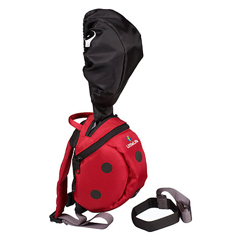Buy LittleLife Toddler Daysack, Ladybird Online at johnlewis.com
