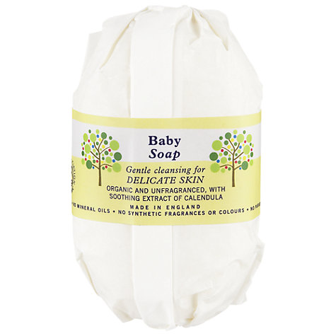 Buy Neal's Yard Organic Baby Soap, 100g Online at johnlewis.com