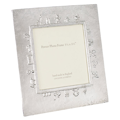 Buy Lancaster & Gibbings Pewter Baby Frame Online at johnlewis.com