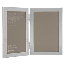 Buy John Lewis Shiny Silver Photo Frame Online at johnlewis.com