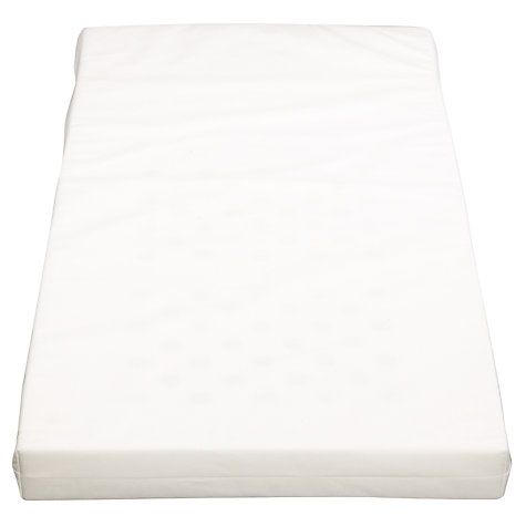 Buy John Lewis Foam Cot Mattress, L120 x W60cm Online at johnlewis.com
