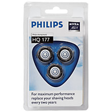 Buy Philips Shaver Heads, HQ177/40 Online at johnlewis.com