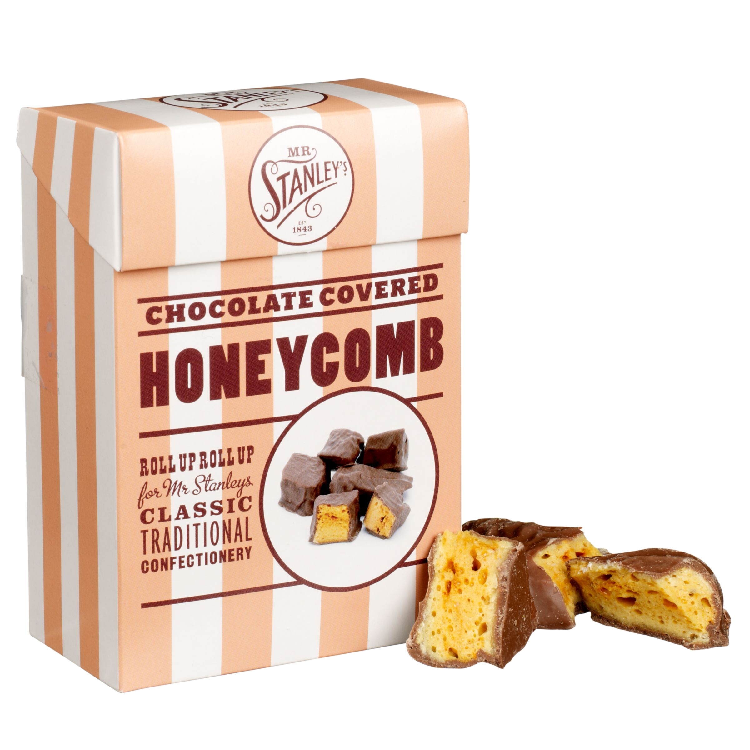 Mr Stanley's Mr Stanley's Quality Chocolate Covered Honeycomb, 150g