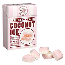 Buy Mr Stanley's Classic Pink and White Coconut Ice, 200g Online at johnlewis.com