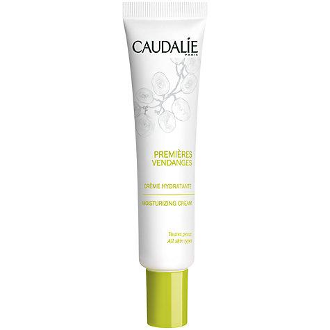 Buy Caudalie Premieres Vendages Moisturising Cream, 40ml Online at johnlewis.com