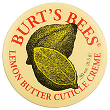 Buy Burt's Bees Lemon Butter Cuticle Creme, 17g Online at johnlewis.com