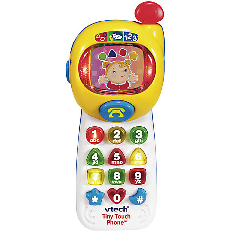 Buy VTech Tiny Touch Phone Online at johnlewis.com