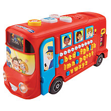 Buy VTech Red Playtime Bus Online at johnlewis.com