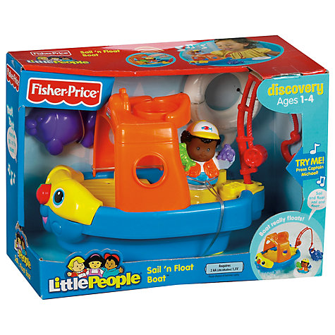 Buy Fisher-Price Little People Vehicle, Assorted Online at johnlewis.com
