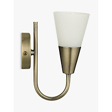 Buy John Lewis The Basics Lulu Wall Light Online at johnlewis.com