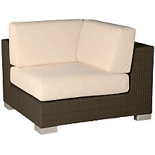 Buy Barlow Tyrie Arizona Seating, Corner Unit, Natural Online at johnlewis.com