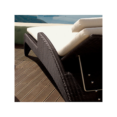 Buy Barlow Tyrie Savannah Outdoor Sunlounger, Natural Online at johnlewis.com