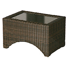 Buy Barlow Tyrie Savannah Rectangular Synthetic Wicker Outdoor Lounger Table Online at johnlewis.com