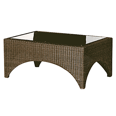 Barlow Tyrie Savannah Rectangular 2-Seat Outdoor Coffee Table
