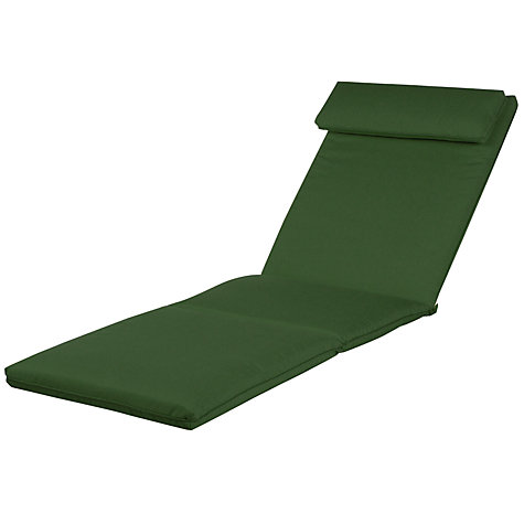 Buy Barlow Tyrie Lounger Cushion, Forest Green Online at johnlewis.com