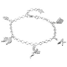 Buy Tales From The Earth Charm Bracelet, Silver Online at johnlewis.com