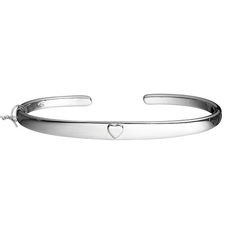 Buy Tales from the Earth Traditional Christening Bracelet, Silver Online at johnlewis.com